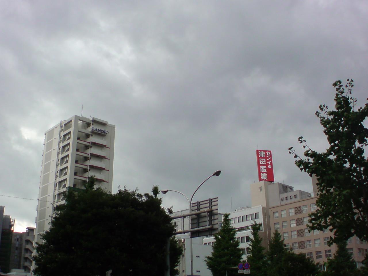 風が強くて雨もふり始まりました!